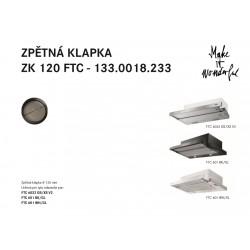FRANKE Príslušenstvo 112.0538.026 spätná klapka ZK 120