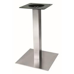 K-stolová noha centr. Strong 450x450 nerez