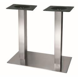 K-stolová noha centr. Strong 700x400 nerez