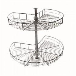 STRONG karusel 3/4 s montážnou tyčou pre skrinky 900mm