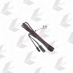 LED predlzovaci kabel MINI/bez koncovky, 200 cm