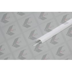 LED krytka D klilk, 19x11 mm, matna, 2 m