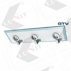 Svetlo bodove OST 3x320V G4 SKLO 560mm sklo matne