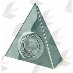 Svetlo bodove trojuholnik G5 bez vypinaca matne