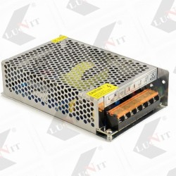 LED transformátory 100-150 W perforovane, 12V DC, IP20, bez kablov